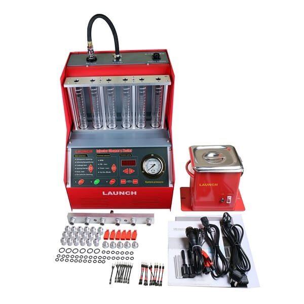 Установка для очистки и тестирования форсунок CNC-602