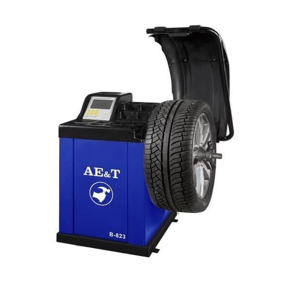 Балансировочный станок полуавтомат AE&T В-823