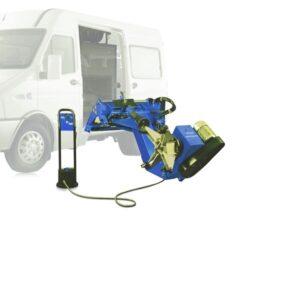 Шиномонтажный станок грузовой мобильный NORDBERG 46TRKM