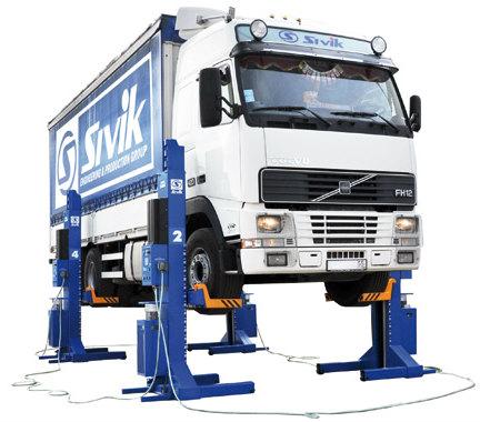 Подъемник для грузовых автомобилей ПГП-24000/4