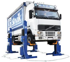 Подъемник для грузовых автомобилей ПГП-45000/6