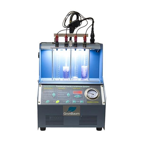 Установка для очистки и тестирования форсунок GrunBaum INJ4000
